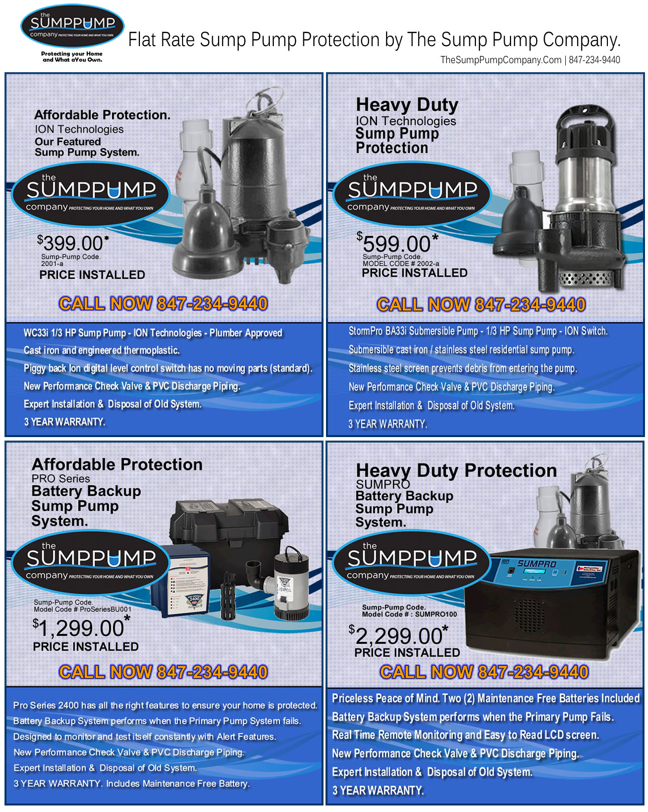 Sump Pump Sysytems from The Sump Pump Company